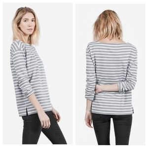 Everlane striped The Heavyweight top size XS